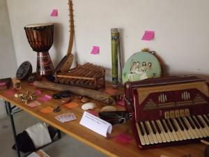 Mostra di strumenti musicali Allegretto TalentJam